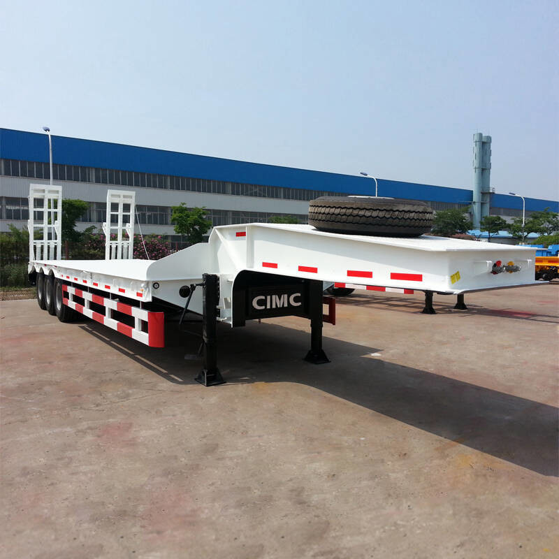 CIMC Transformer 60T Step Deck Tri Axle Lowboy Trailer