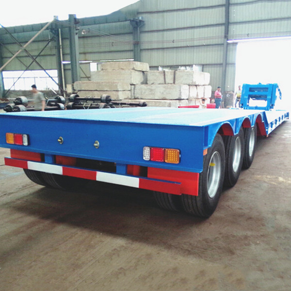 Equipment Transport RGN Lowboy 80T Gooseneck Drop Deck Trailer